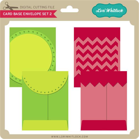 Card Base & Envelope Set 2
