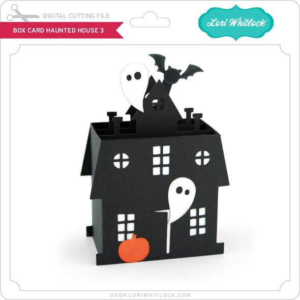 Box Card Haunted House 3