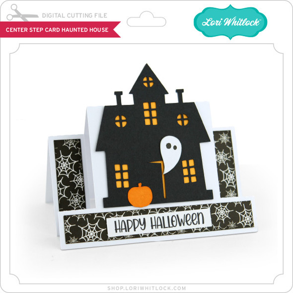 Center Step Card Haunted House