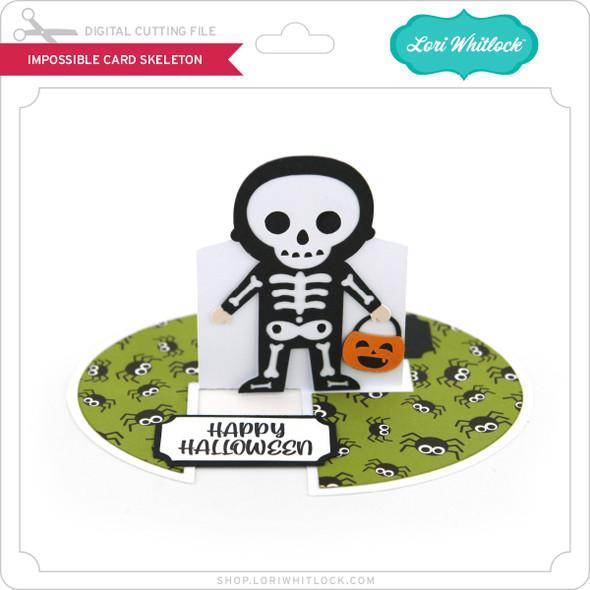 Impossible Card Skeleton