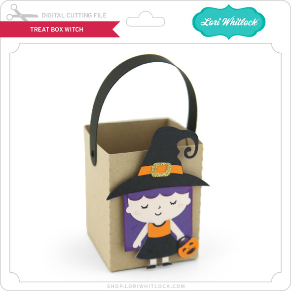 Treat Box Witch