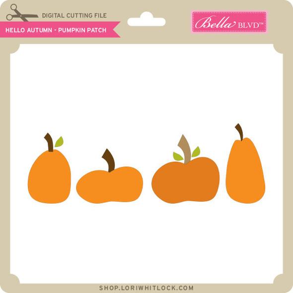 Hello Autumn - Pumpkin Patch