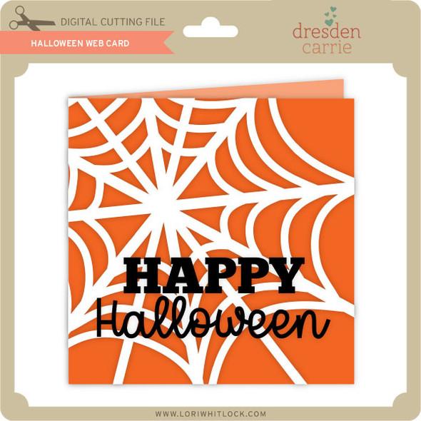 Halloween Web Card