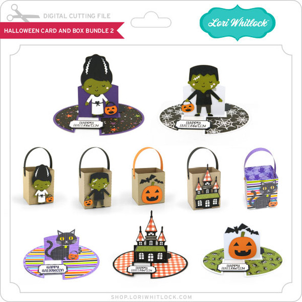 Halloween Card and Box Bundle 2
