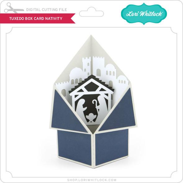 Tuxedo Box Card Nativity