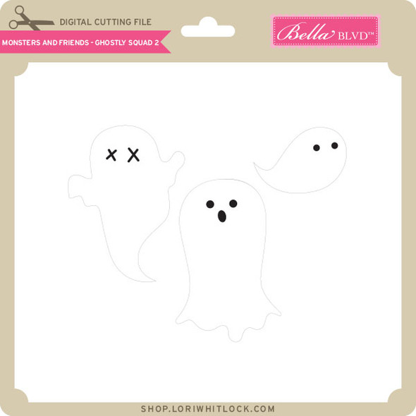 Monsters and Friends - Ghostly Squad 2