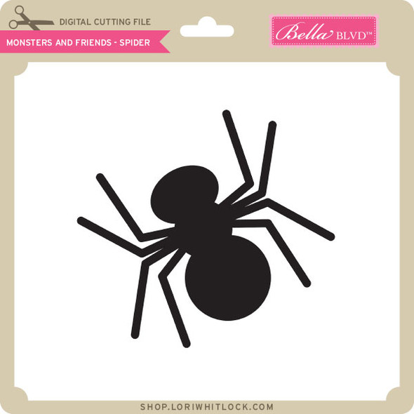 Monsters and Friends - Spider