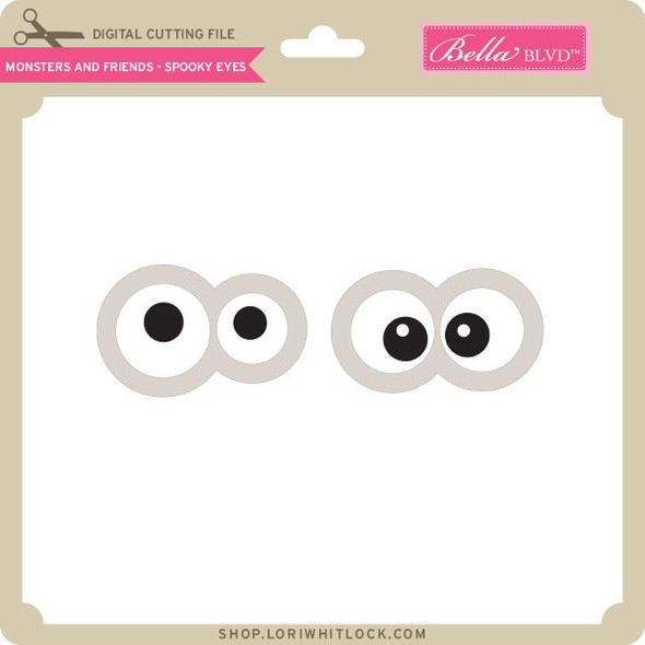 Monsters and Friends - Spooky Eyes