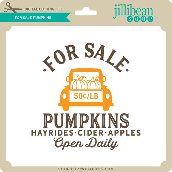 For Sale Pumpkins