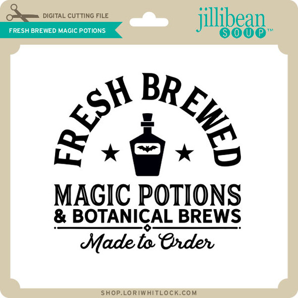 Fresh Brewed Magic Potions