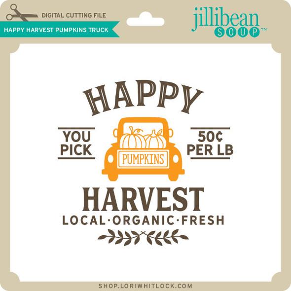 Happy Harvest Pumpkins Truck
