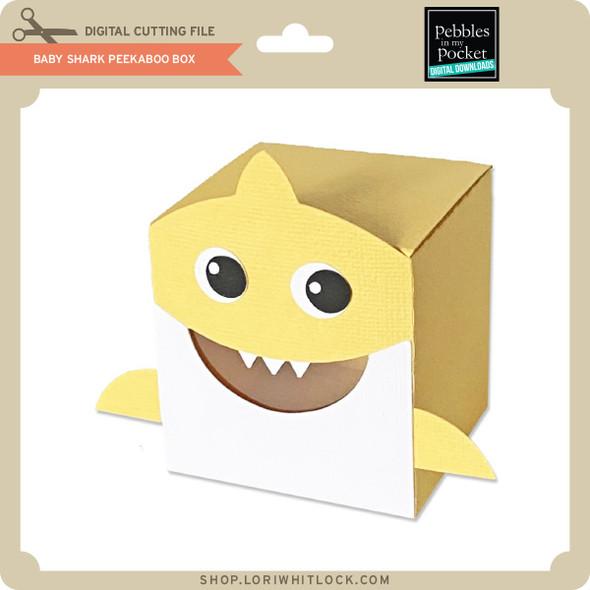 Baby Shark Peek A Boo Box