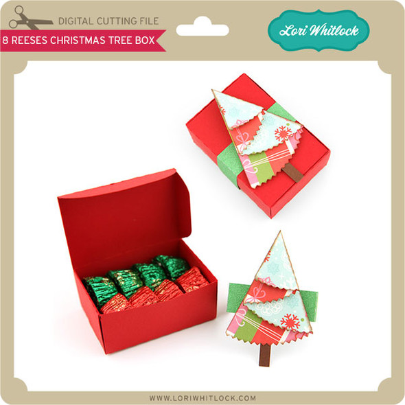 8 Reeses Christmas Tree Box