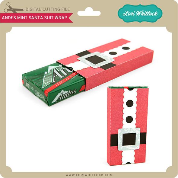 Andes® Mint Santa Suit Wrap