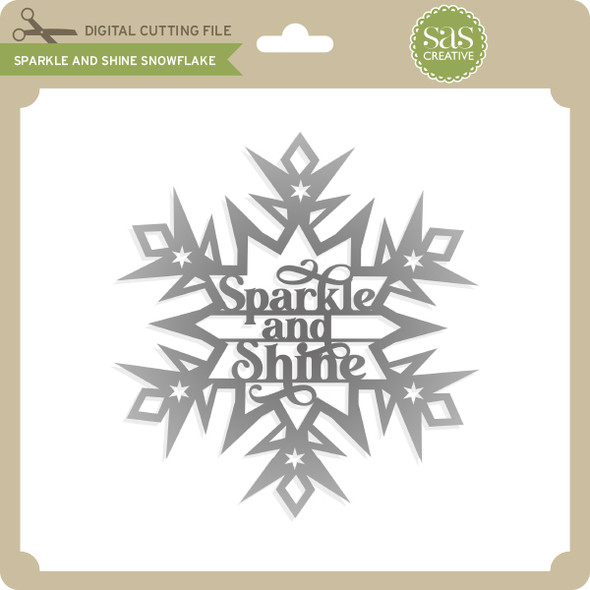 Sparkle and Shine Snowflake