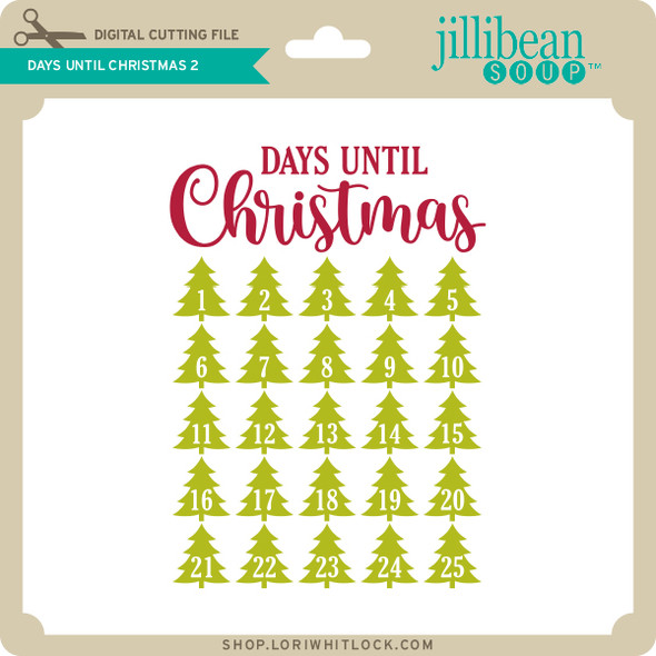Days Until Christmas 2
