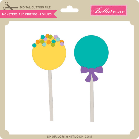 Monsters and Friends - Lollies