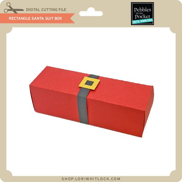 Rectangle Santa Suit Box