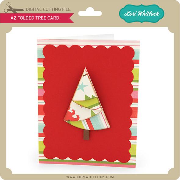 A2 Folded Tree Card