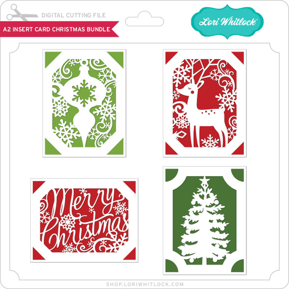 A2 Insert Card Christmas Bundle