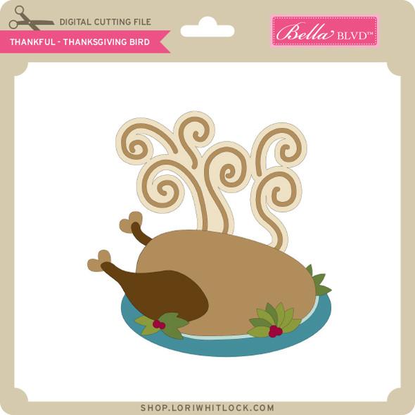 Thankful - Thanksgiving Bird