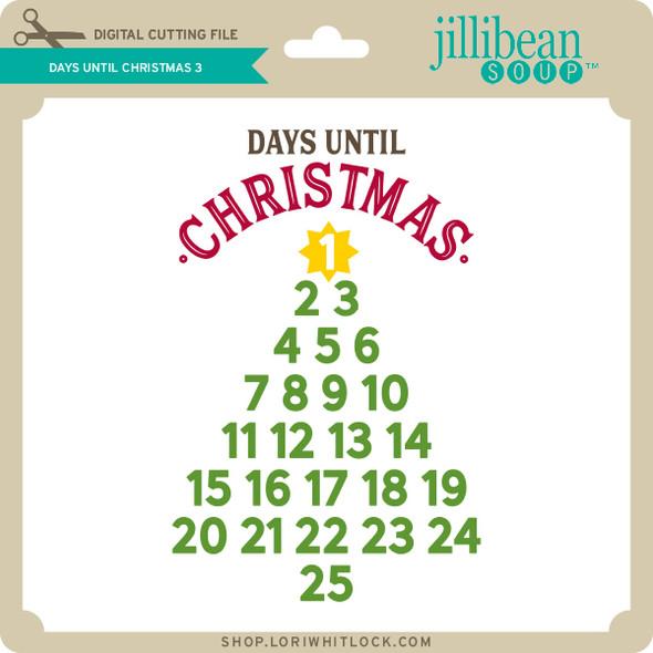 Days Until Christmas 3