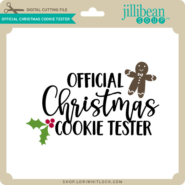 Official Christmas Cookie Tester