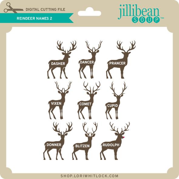 Reindeer Names 2