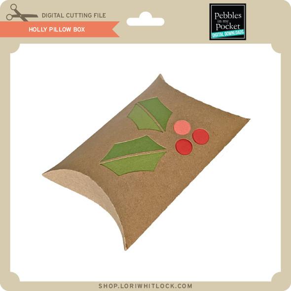 Holly Pillow Box