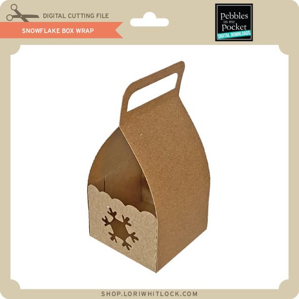 Snowflake Box Wrap
