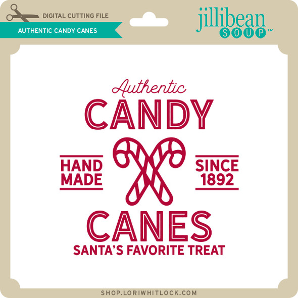 Authentic Candy Canes