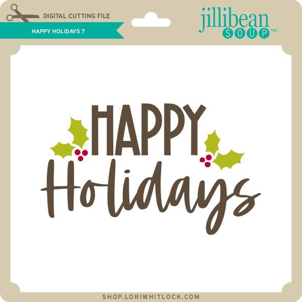 Happy Holidays 7