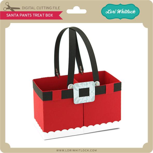 Santa Pants Treat Box