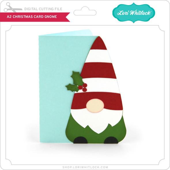 A2 Christmas Card Gnome