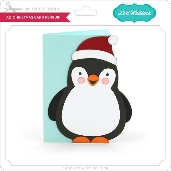 A2 Christmas Card Penguin
