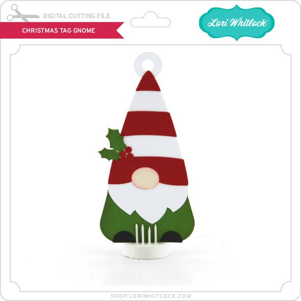 Christmas Tag Gnome