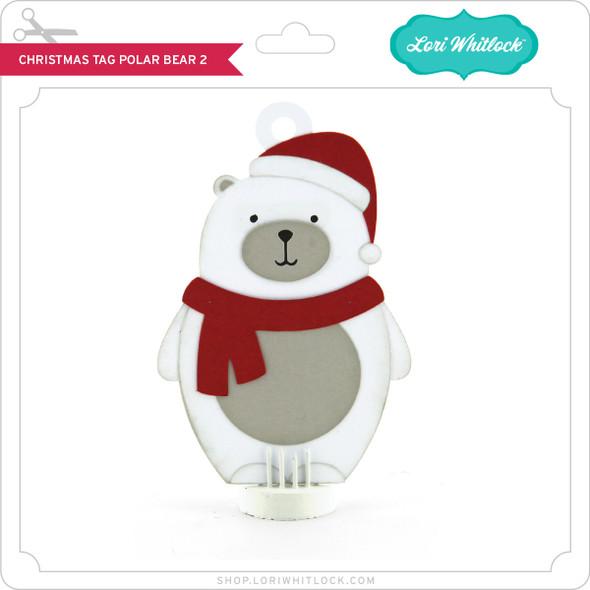 Christmas Tag Polar Bear 2