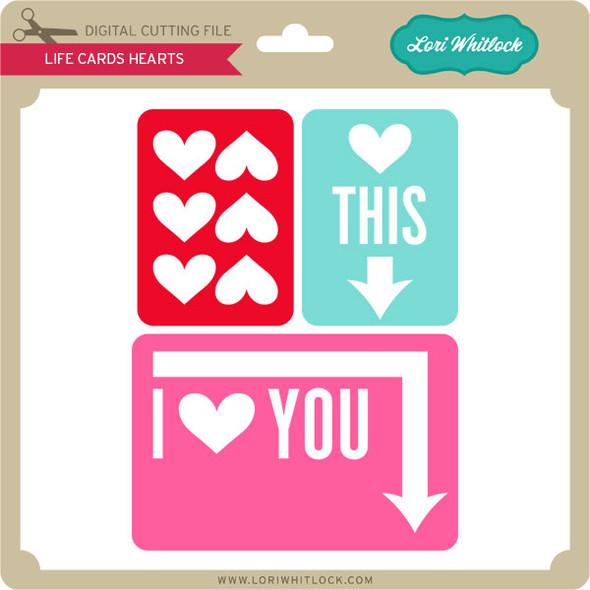Life Cards Hearts