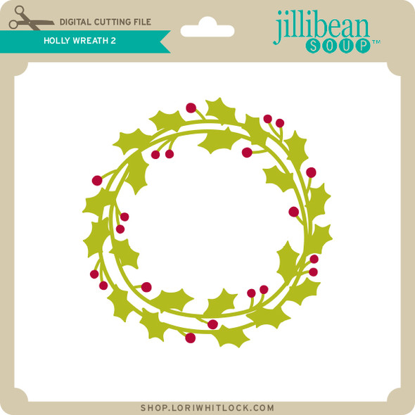 Holly Wreath 5