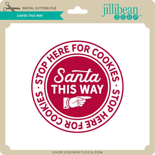Santa This Way