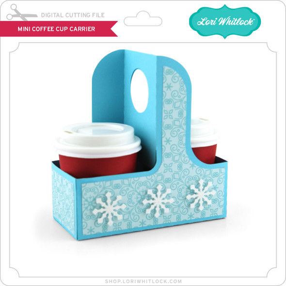 Mini Coffee Cup Carrier