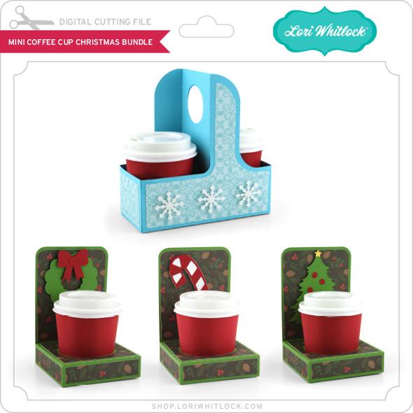 Mini Coffee Cup Christmas Bundle