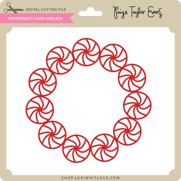 Peppermint Candy Wreath