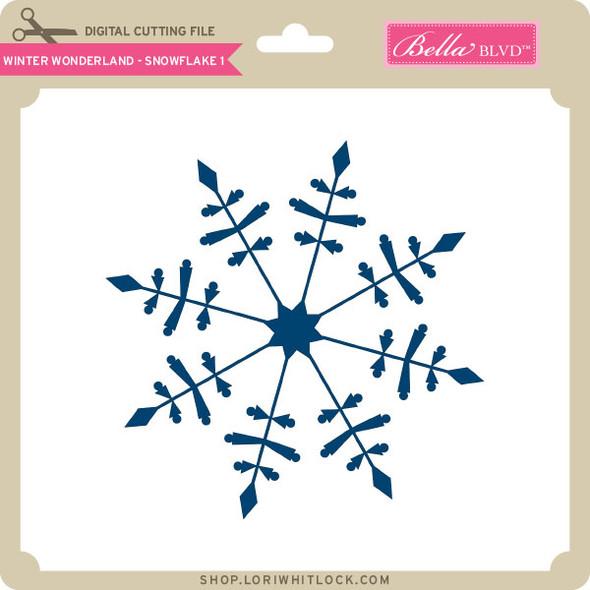 Winter Wonderland - Snowflake 1