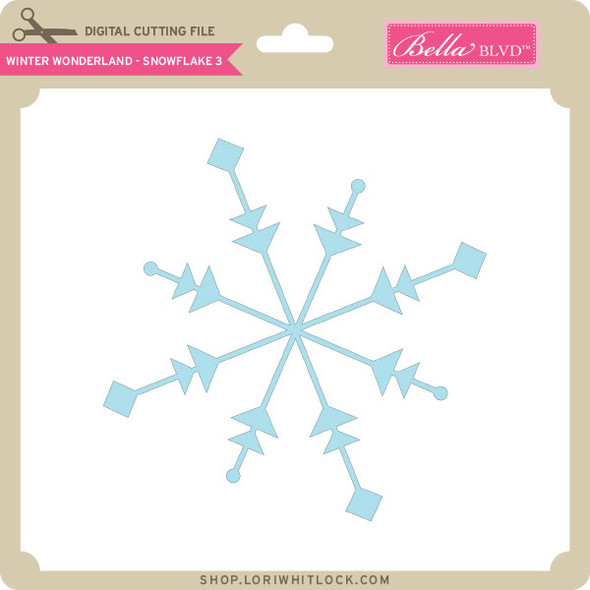 Winter Wonderland - Snowflake 3