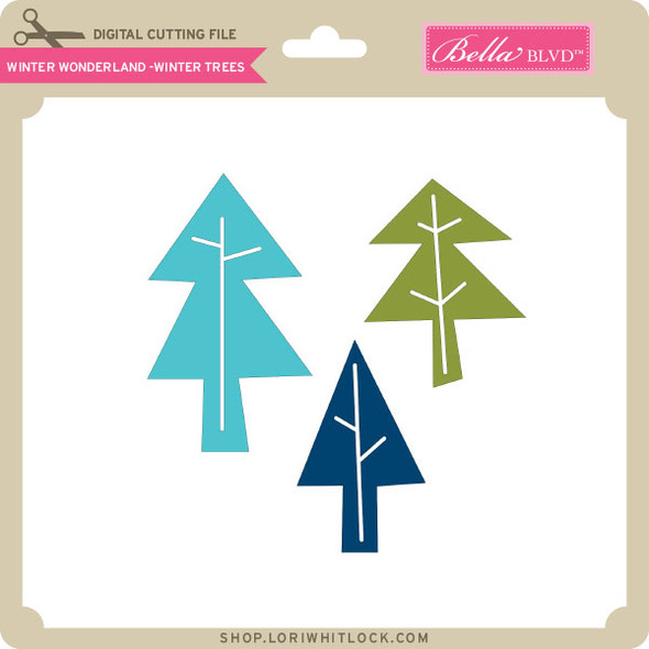 Winter Wonderland - Winter Trees