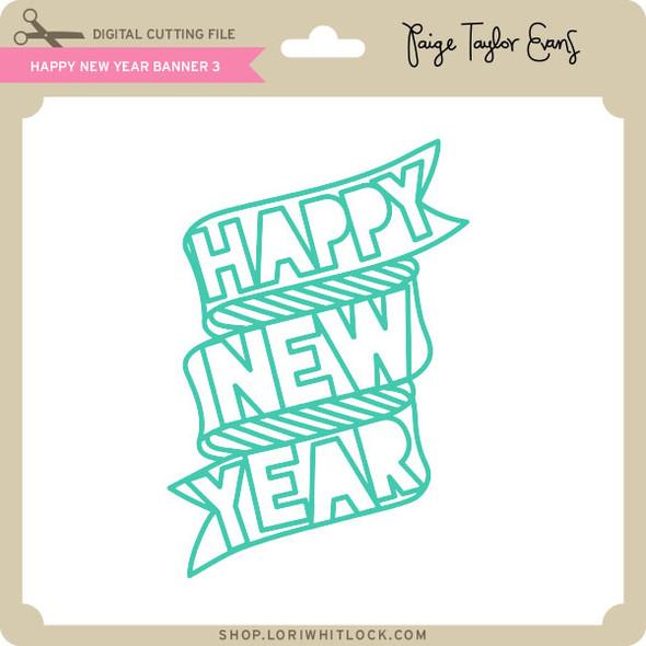 Happy New Year Banner 3
