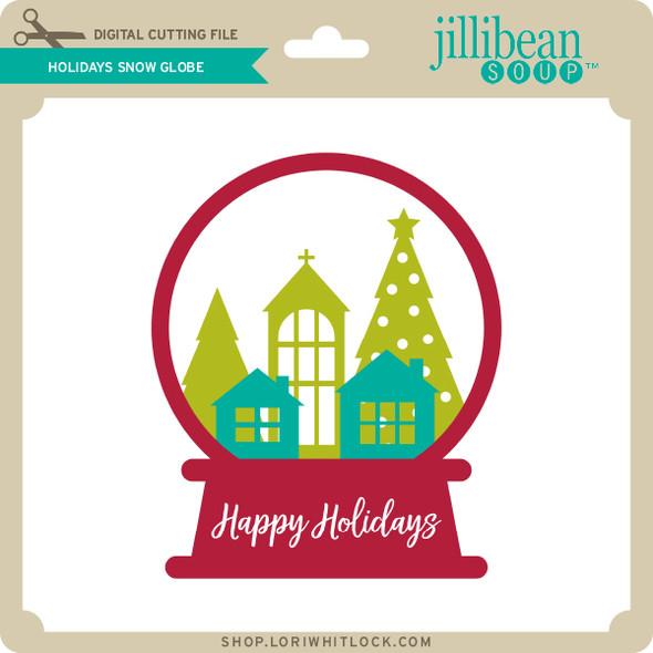 Holiday Snow Globe