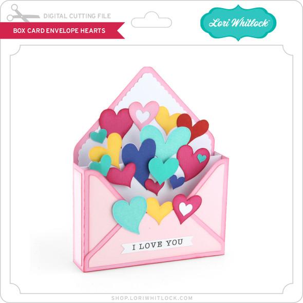 Box Card Envelope Hearts