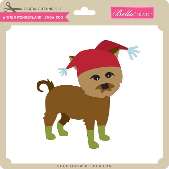Winter Wonderland - Snow Dog